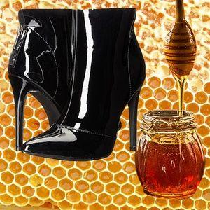 SEXY Michael Antonio Women's Joke-Pat Boots Heel